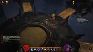 Diablo 3 - Komplettlösung : Der Terminus ist der Zugang zu den Dungeons.