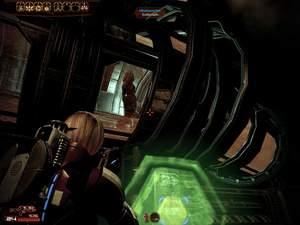 Mass Effect 2 : Wenn Sie die Schleusen nicht schnell genug öffnen, verbrennt Tali im Lüftungsschacht.