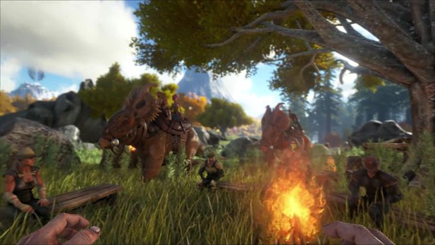 Ark: Survival Evolved - Gameplay-Trailer zeigt Inhalte von Update v252