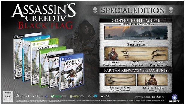 Assassin's Creed 4: Black Flag: Die Special Edition