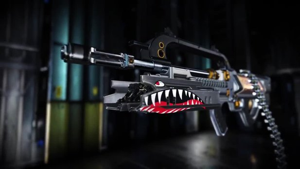 Call of Duty: Advanced Warfare - DLC-Waffe »Ohm« im Trailer: Laser-Schrotflinten-Maschinengewehr