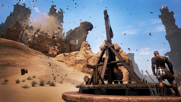 Conan Exiles - Trailer: So funktionieren die Trebuchets
