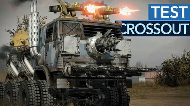 Crossout - Testvideo zum postapokalyptischen World of Tanks