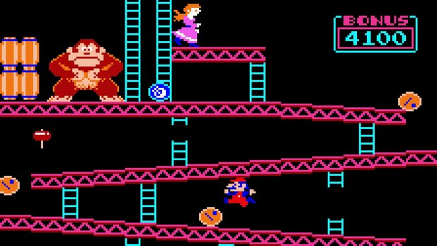 Donkey Kong (1981) wurde neben Halo, Pokémon und Street Fighter 2 in die World Video Game Hall of Fame aufgenommen.