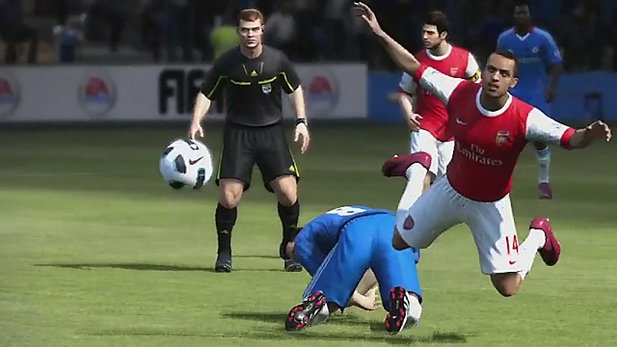Video zur Player Impact Engine in FIFA 12