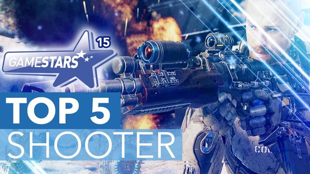 GameStars 2015 - Gewinner: Shooter - Die Shooting-Stars der Community
