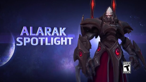 Heroes of the Storm - Trailer: Neuer Held Alark im Spotlight