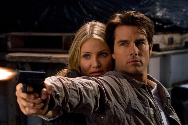 June (Cameron Diaz) und Roy (Tom Cruise)