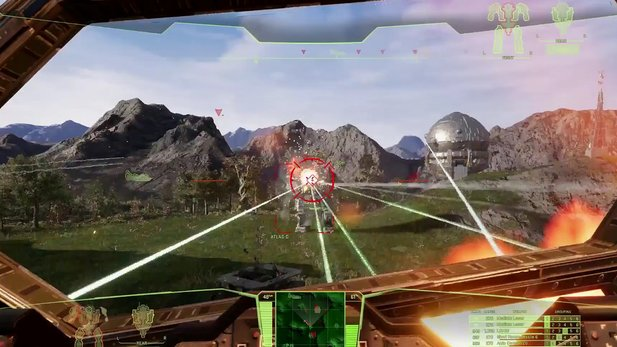 MechWarrior 5: Mercenaries - Gameplay-Teaser-Trailer von der MechCon 2017