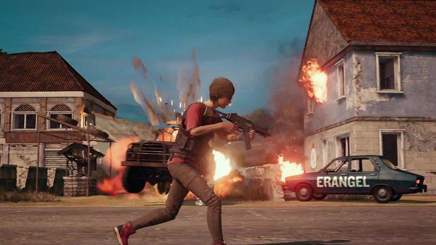 PUBG - E3 trailer shows game and teasers the upcoming snow card