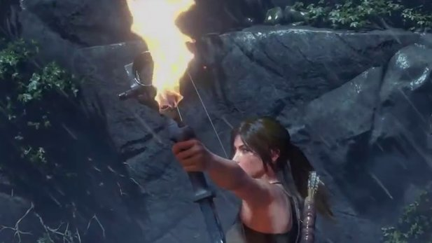Rise of the Tomb Raider - Trailer zum »Holy Fire Card Pack« mit explodierenden Hühnern