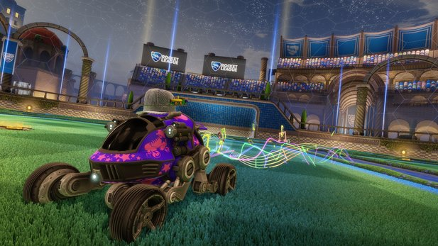 Der DLC »Revenge of the Battle Cars« für Rocket League wird 3,99 Euro kosten.