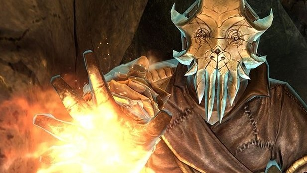 TES 5: Skyrim - Dragonborn Test-Video (Xbox 360)
