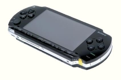 Die Sony-Konsole PlayStation Portable