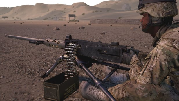 Squad - Trailer: Kaliber.50-MG-Nest in Aktion