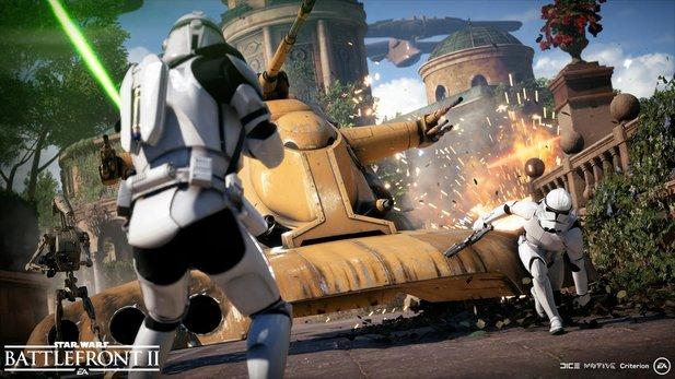 Star Wars Battlefront 2: Darth Vader nimmt an den Schlachten teil