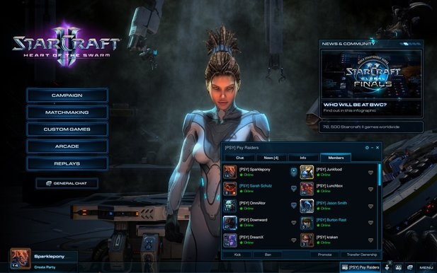 Das Beta-Update 2.0.1 für StarCraft 2: Heart of the Swarm ist online.