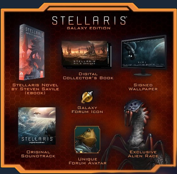 Stellaris - Die Galaxy Edition