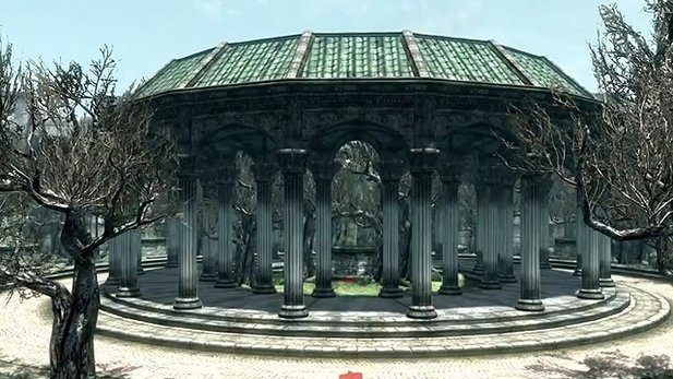 Imperial City in der Skyrim-Engine