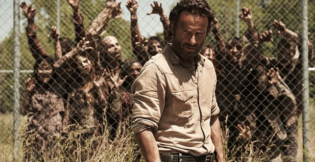 In The Walking Dead verkörpert Andrew Lincoln den Sheriff Rick Grimes.