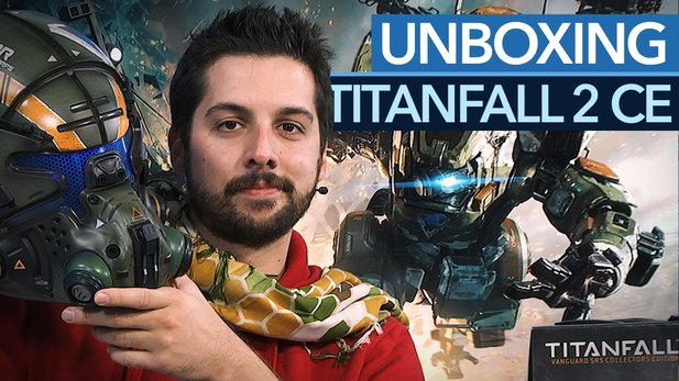Titanfall 2 - Unboxing der Collector's Edition mit Piloten-Helm