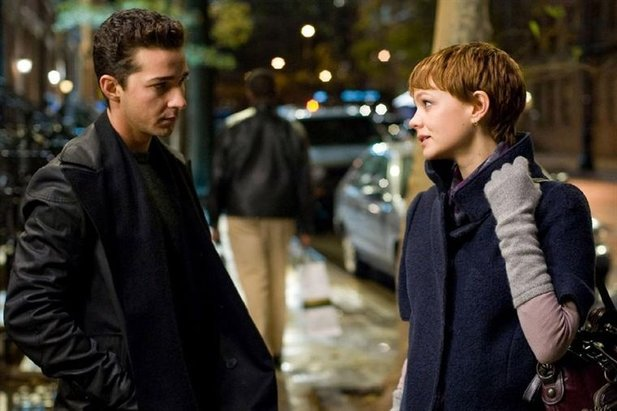 Shia LaBeouf und Filmpartnerin Carey Mulligan
