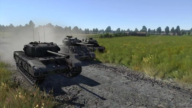 War Thunder - Trailer zum »Royal Armor«-Update 1.55