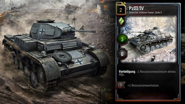 World of Tanks Generals - Trailer zur Beta des Kartenspiels
