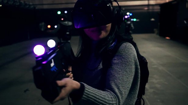 Zero Latency - Video zeigt Beispiel-Szenario in der Virtual-Reality-Arena