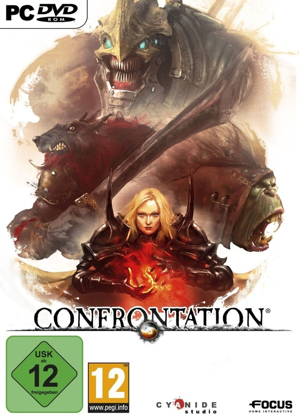 Cover zu Confrontation
