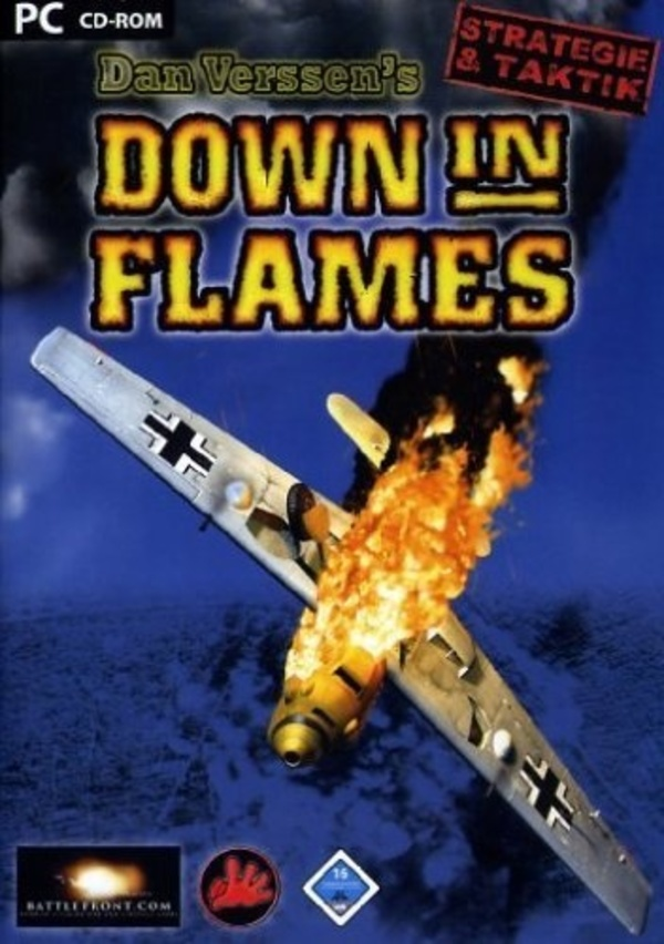 Cover zu Down in Flames