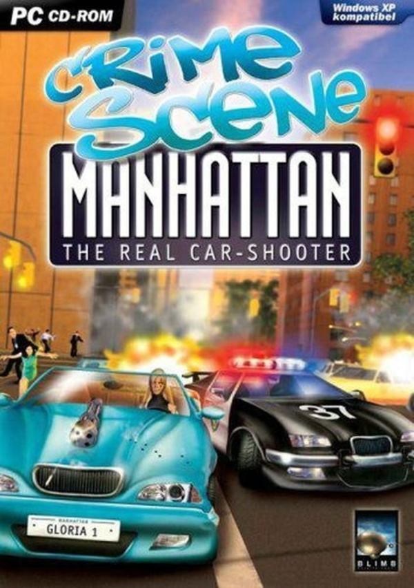 Cover zu Crime Scene Manhatten: The Real Car-Shooter