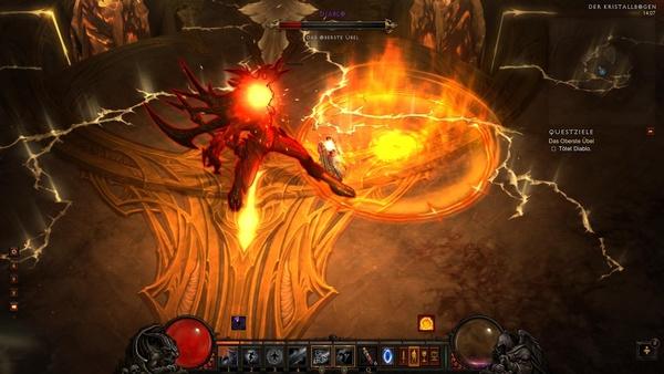 Diablo 3 - Komplettlösung : Im Kampf gegen Diablo.