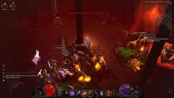 Diablo 3 - Komplettlösung : In der zweiten Ebene des Silbernen Turms geht's zur Sache!