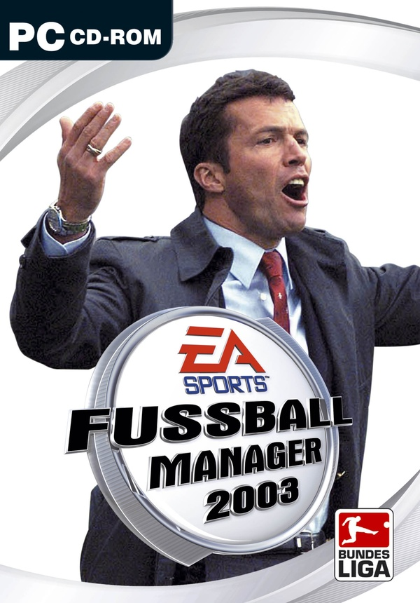 fussball manager 2003 pc spiele cover gamestar. Black Bedroom Furniture Sets. Home Design Ideas