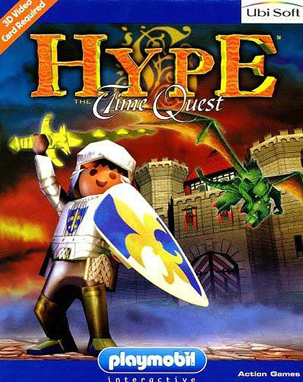 Cover zu Hype: The Time Quest