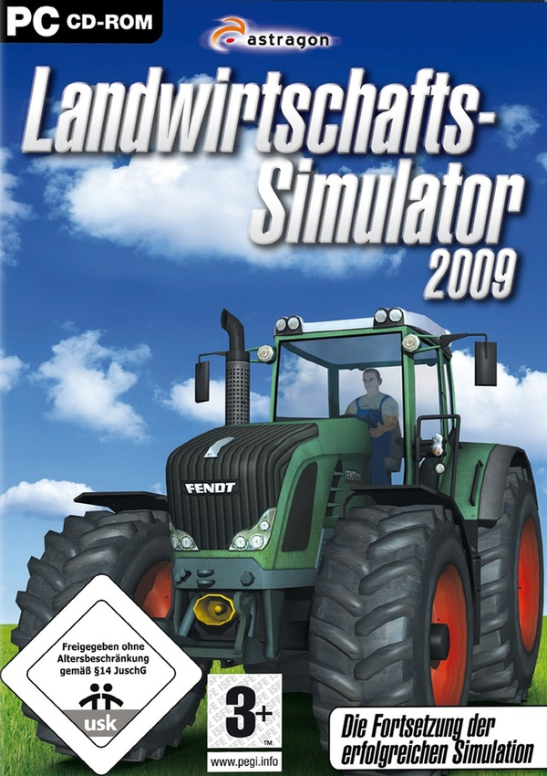 landwirtschafts simulator 2009 pc spiele cover gamestar. Black Bedroom Furniture Sets. Home Design Ideas