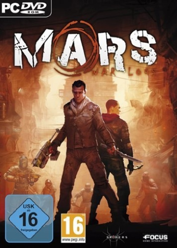 Cover zu Mars: War Logs