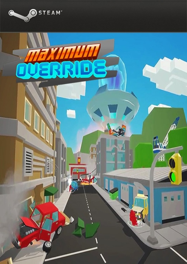 Cover zu Maximum Override