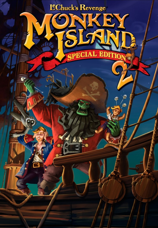 Cover zu Monkey Island 2: LeChuck's Revenge - Special Edition