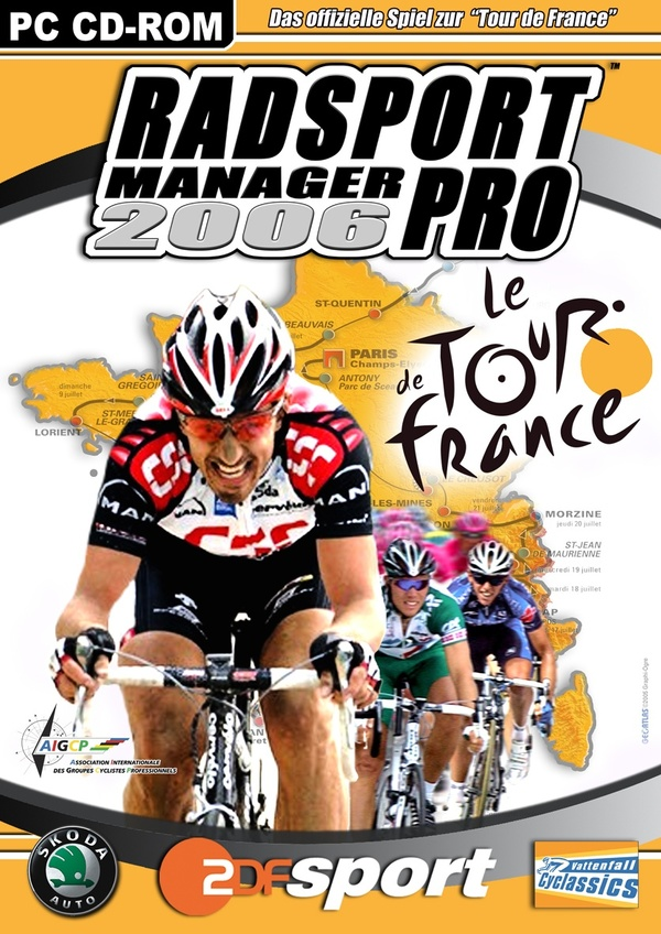 Cover zu Radsport Manager Pro 2006