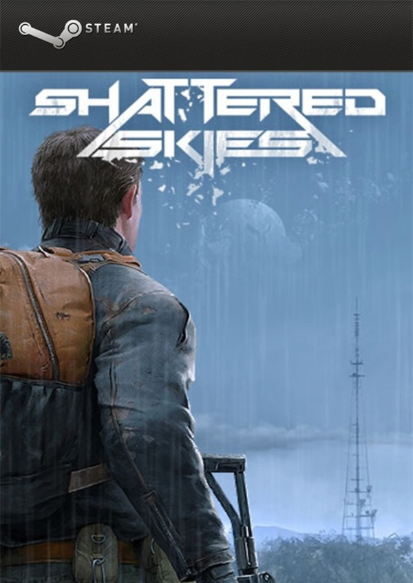 Cover zu Shattered Skies