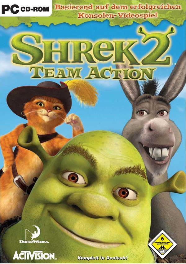 Cover zu Shrek 2: Team Action