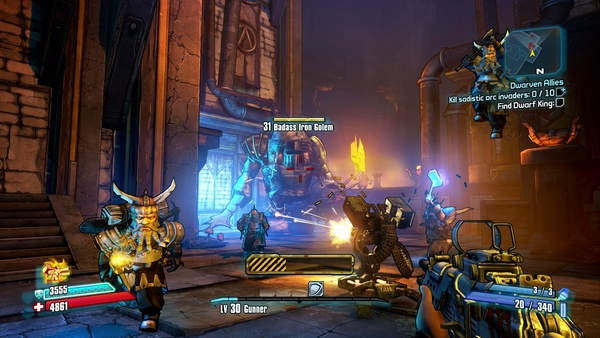 Screenshot zu Borderlands 2 - Screenshots aus dem DLC »Tiny Tina's Assault on Dragon Keep«