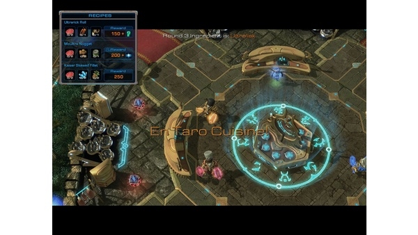 Screenshot zu StarCraft 2 - Bilder zur Custom Map »Aiur Chef«