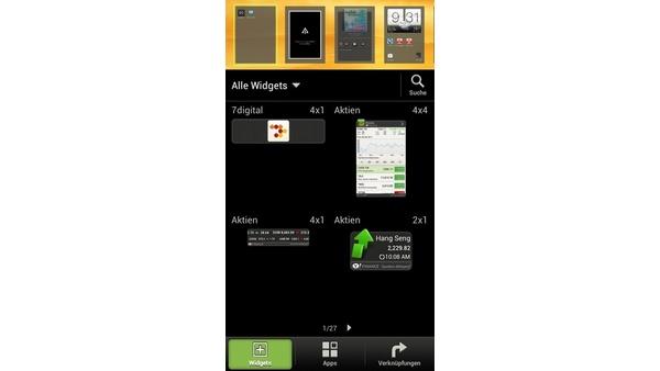 Bilder zu HTC One S - Android 4.0 mit HTC Sense
