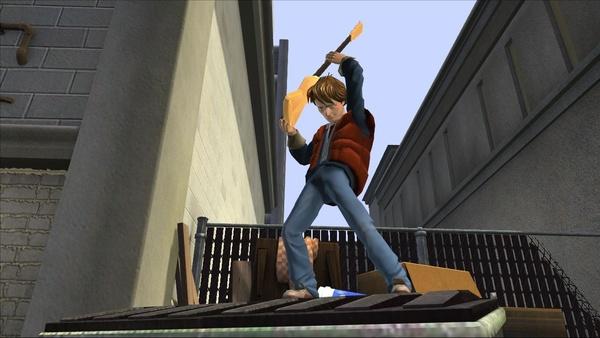 Screenshot zu Back to the Future: Citizen Brown - Screenshots