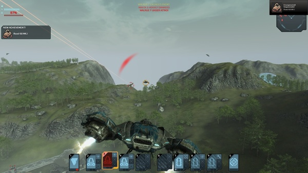Screenshot zu Carrier Command: Gaea Mission - Screenshots