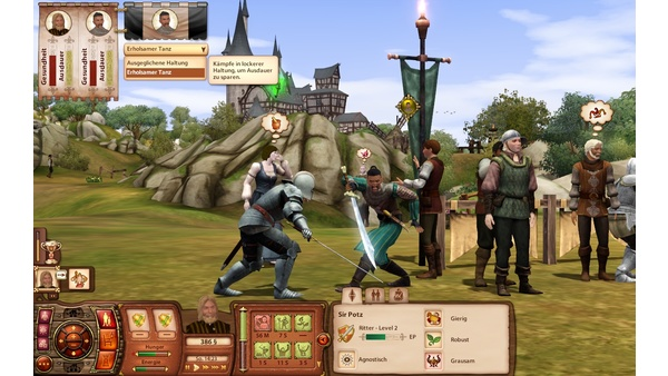 Screenshot zu Die Sims: Mittelalter - Screenshots