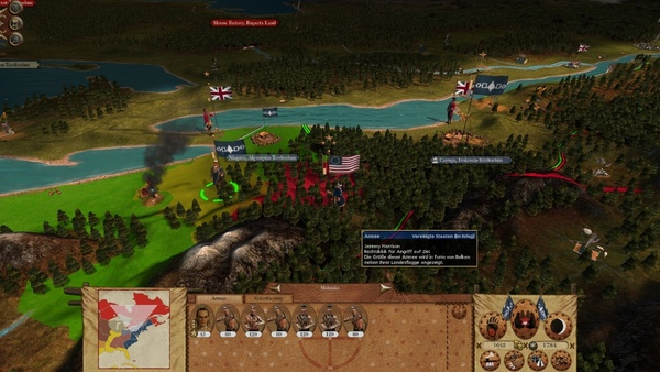 Screenshot zu Empire: Total War - DLC: The Warpath Campaign